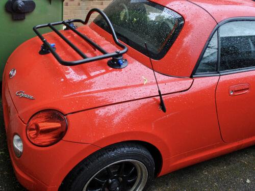 Daihatsu Copen Luggage Rack Fits All  ; No Clamps  No Brackets = No Damage