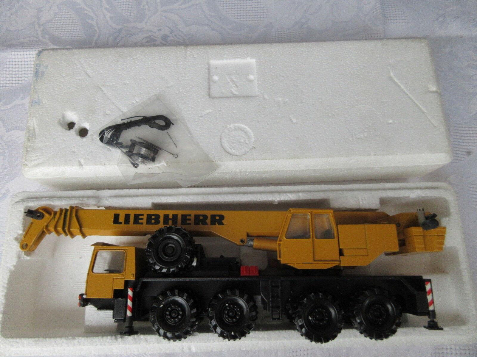 Conrad 2079 Liebherr Gru Auto 1 50 vetrina modello ottime condizioni senza imballaggio originale