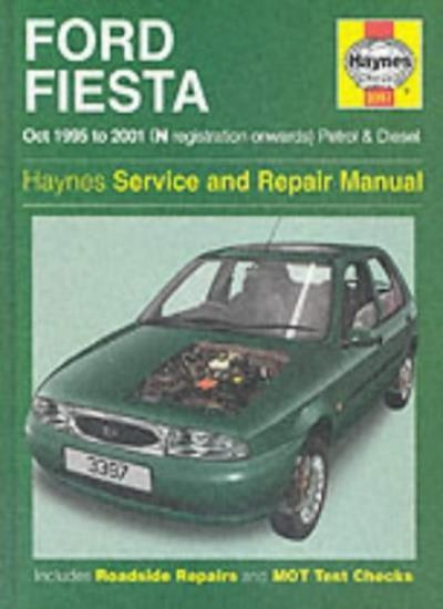 Ford Fiesta, October 1995 to 2001 (N registration onwards) Petr .9781859607619