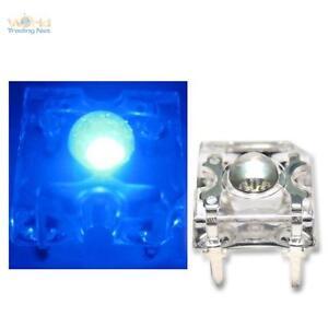 10 SuperFlux LEDs BLAU PIRANHA 3mm LED Zubehör 12V blue bleu blauw Leuchtdioden