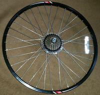 "Rear Cycle Wheel - 26""  Disc Brake - incl 7 speed Shimano Reduced"
