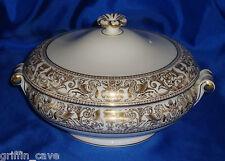 Superb Wedgwood GOLD FLORENTINE Tureen Mint Unused Condition
