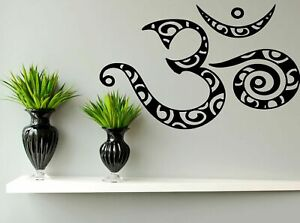 Wall-Decal-Sticker-Room-Mural-Design-Art-Om-Abstract-Symbol-Sign-Decor-1342
