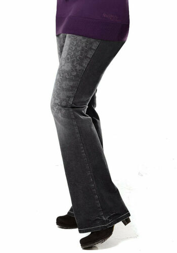 K-Gr black denim 21 Buffalo London Stretch-Jeans NEU!!! 42