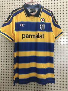 MAGLIA PARMA PARMALAT 1999//2000 CANNAVARO CHIESA CRESPO THURAM STANIC SENSINI