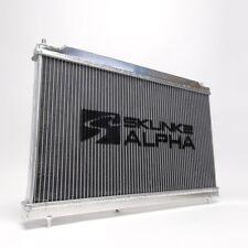 Skunk2 Alpha Dual Core Aluminum Radiator For 06-11 Honda Civic Si FA FG