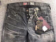 """PRPS NOIR Men's Jeans Japan Selvedge 31"""" BNWT P65P100VBL RRP £675"""