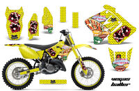 Suzuki Rm 125/250 Graphic Kit Amr Racing Plates Decal Sticker Part 01-09 Vby