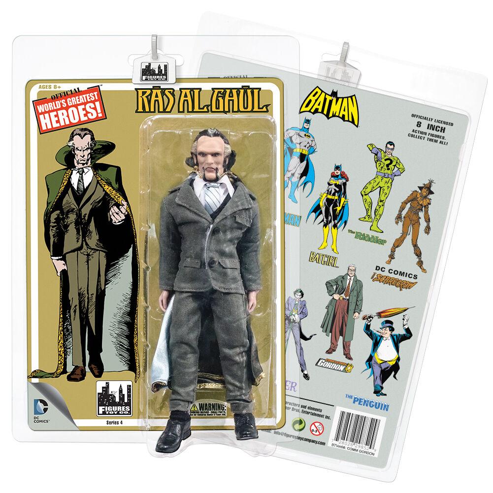 DC Comics Retro Style 8 Inch Figures Batman Retro Retro Retro Series 4  Ras Al Ghul 60e23a