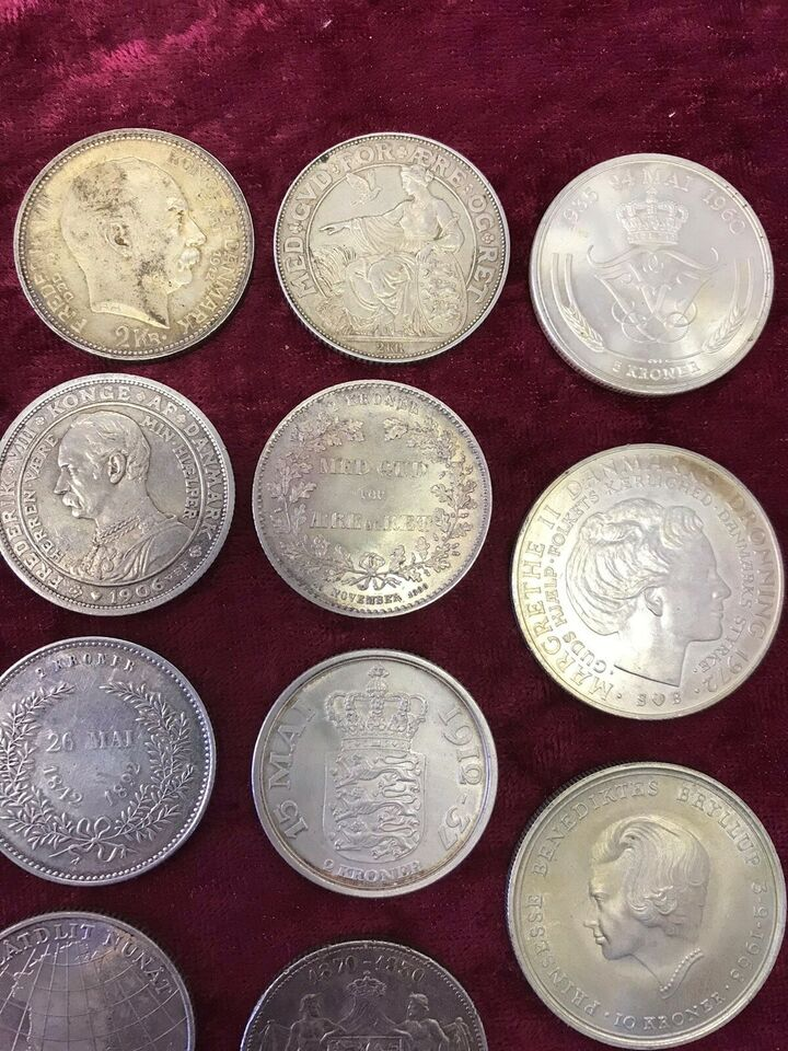 Danmark, mønter, 88