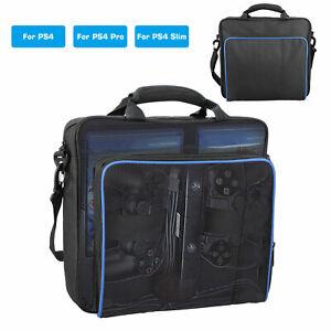 Multifunctional Travel Carry Case Carrying Shoulder Bag Handbag for PS4/Pro/Slim