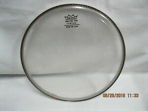 remo drum head 8 inch pre owned batter king made in usa 8 inch used head