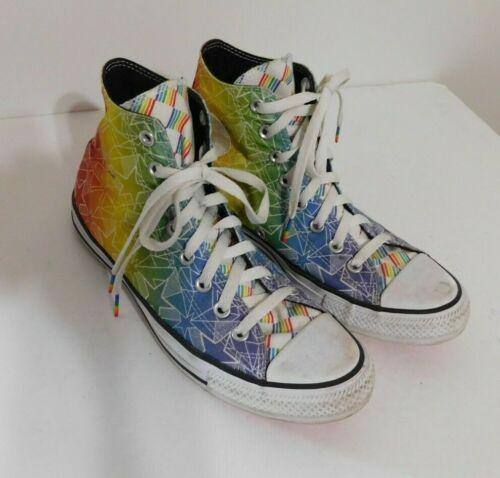 Converse All Star  Multi Color LGBTQ Pride Shoes S
