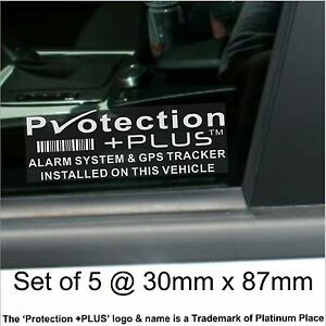 5-x-GPS-Tracking-Device-Alarm-Security-Stickers-Car-Tracker-Warning-Signs-PrPlus