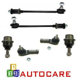 ASC-2-Front-Ball-Joints-2-Links-2-Outer-Track-Rod-Ends-For-Ford-Transit-Connect