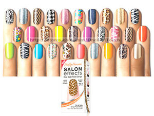 SALLY-HANSEN-16pc-Nail-Polish-Strips-SALON-EFFECTS-Appliques-YOU-CHOOSE-A-M