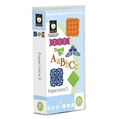 CRICUT - Paper Lace 2 - Cartridge - 2000941