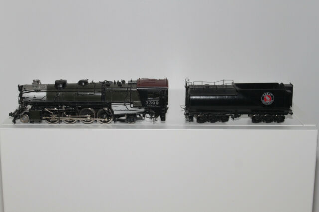 HO BRASS GREAT NORTHERN 0-8   2-8-2 CLOSED CAB SUNSET MODELS IN ORIGINAL BOX
