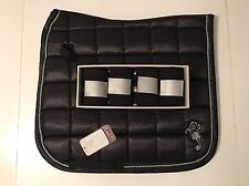 *SALE*-Cavallino Marino Arctic Shine Matchy Matchy Set-Saddlepad-Bandages-Black