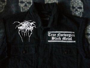 Darkthrone-Blaze-The-Northern-Sky-Black-Metal-Denim-Cut-Off-Battle-Jacket-M-XXL