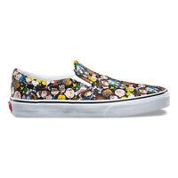 Vans X Peanuts - Classic Slip On   Unisex Shoes   The Gang / Black