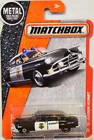 Matchbox 2017 Metal Parts Piezas '51 Hudson Hornet Black
