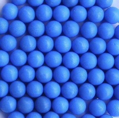 500 New Blue .43 Cal Réutilisable Rubber Training Balls paintball
