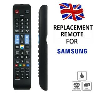Replacement-Remote-Control-For-Samsung-SMART-TV-WORKS-2008-2016-MODELS-UK-Seller