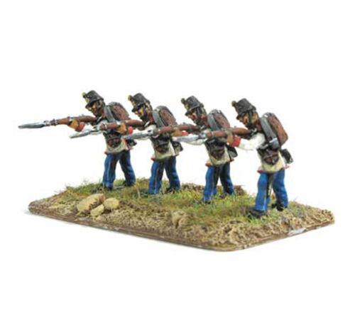 15mm Austrian Fusiliers firing standing Mirliton