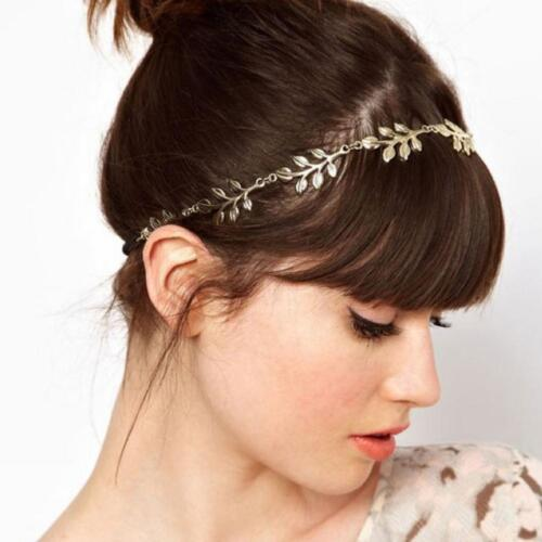 Women Rhinestone Head Chain Jewelry Headband Head Piece Headdress Hair Decor GA