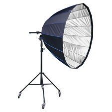 LIFE of PHOTO Para-Softbox 150 cm für ELINCHROM mit Stativ & Fokussiersystem