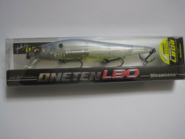 Megabass ITO VISION ONE TEN LBO PM GHOST PRO blu color NIP 110 !! Nuovo ONETEN