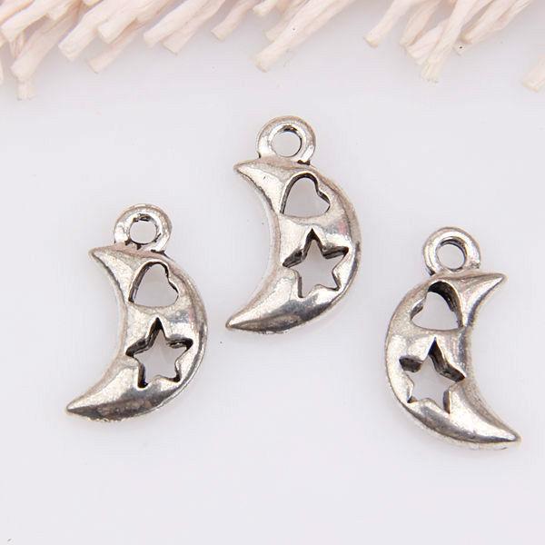 30pcs zinc alloy cats pendants 20x10mm 1A472
