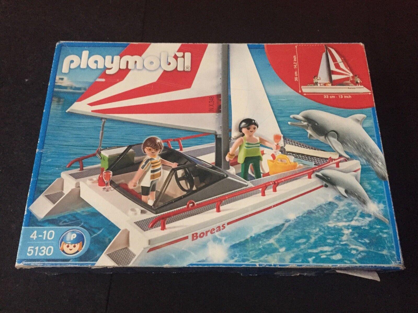 PLAYMOBIL 5130 catamarano  con accessori NUOVO  wholesape economico