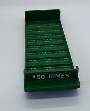 Mmf Porta Count Plastic Rolled Coin Tray 50 Dimes