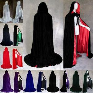 2015-New-Velvet-Halloween-Wedding-Capes-Cloaks-Hooded-Wicca-Robe-Christmas-S-XXL