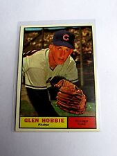 1961 Topps Glen Hobbie Chicago Cubs #264 Baseball Card