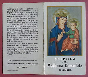 Risultati immagini per 20 giugno Madonna della consolata