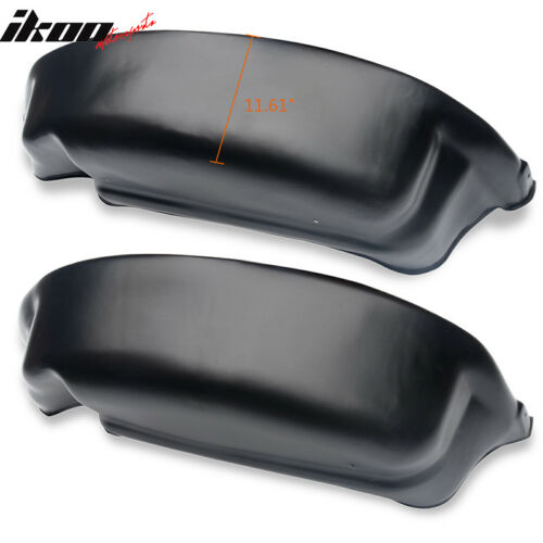Fits 15-18 Ford F150 Rear Wheel Well Guards Liners Unpainted PP