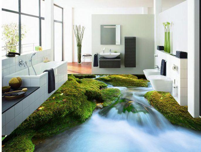 3D Ruisseau 9 Fond d'écran étage Peint en en en Autocollant Murale Plafond Chambre Art   Les Consommateurs D'abord  67e096
