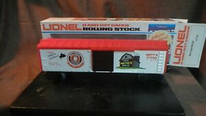 NOS-Lionel-Mail-Pouch-Chewing-Tobacco-Boxcar-6-7710-1978-O-027-Gauge