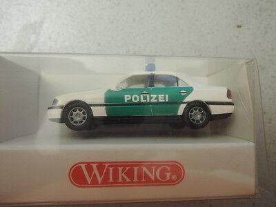 Other Vehicles *5 The Best Wiking 1040225 Mb C200 Polizei Weiß/grün In Ovp Aus Sammlung