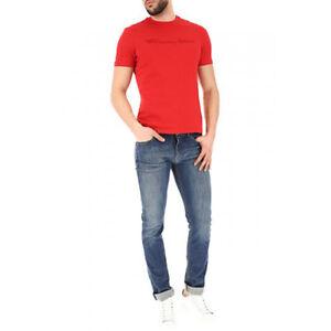 low priced c7b24 75033 Dettagli su Jeans uomo EMPORIO ARMANI Slim Fit 8N1J06 1D0MZ Prezzo Listino  180€