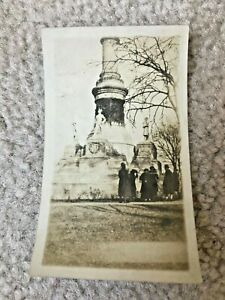 Confederate-Civil-War-Monument-Capitol-Montgomery-Alabama-Vintage-Photograph