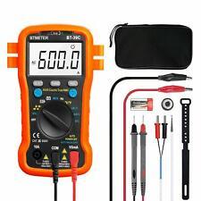 Digital Multimeter Fluke Meter Amp Ohm Voltmeter Autorange Tester Ac Dc Current