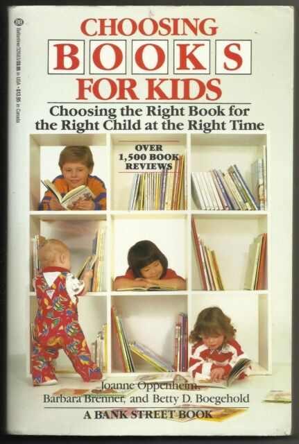 Vintage 1986 Choosing Books For Kids Oppenheim Brenner Boegehold Paperback Book