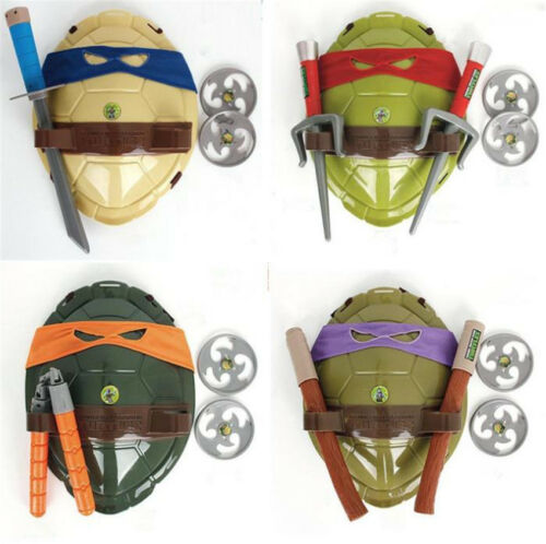 Teenage Mutant Ninja Turtles Combat Shield Shell Weapon Kid Toy Cosplay Props