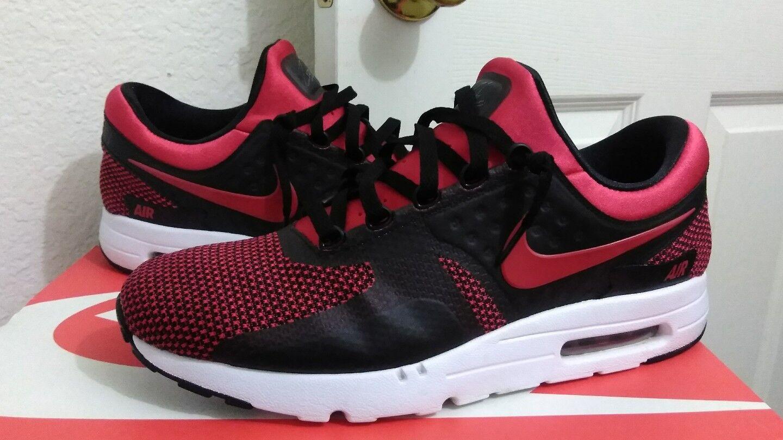 Nike Air Max Zero de Bred Negro Universidad Rojo reducción de Zero precio 30376e
