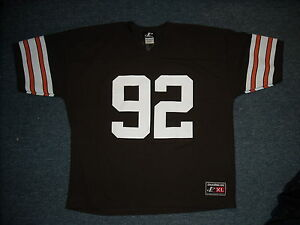 aea48eae5 VINTAGE 90 S LOGO ATHLETIC NFL CLEVELAND BROWNS COURTNEY BROWN ...