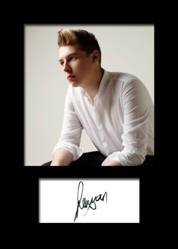 JOHN NEWMAN #1 Signed Photo Print A5 Mounted Photo Print FREE DELIVERY